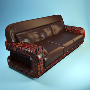 3ds max florence collections sofa