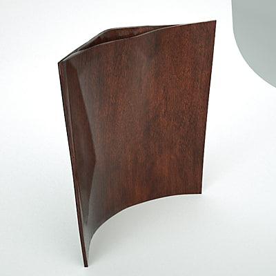 3d model table sculpture