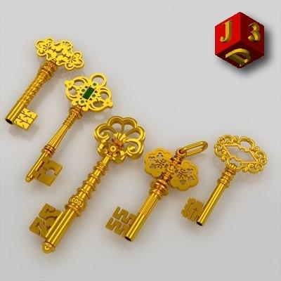 set keys 3d lwo