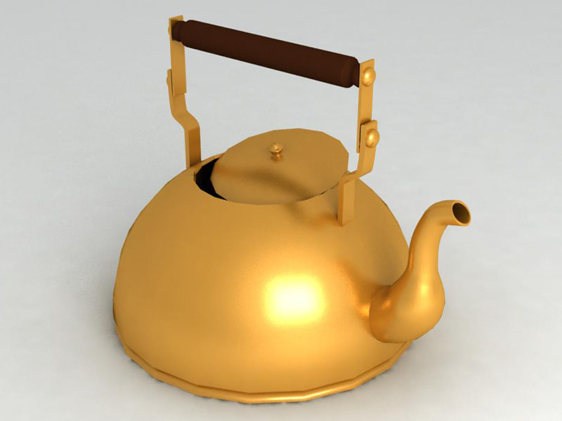 3d 3ds kettle tea
