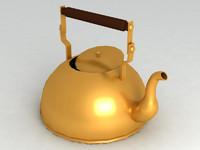 3d 3ds kettle tea