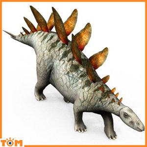 blend stegosaurus dinosaur