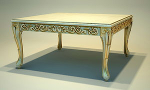3d angelo cappelini table - model