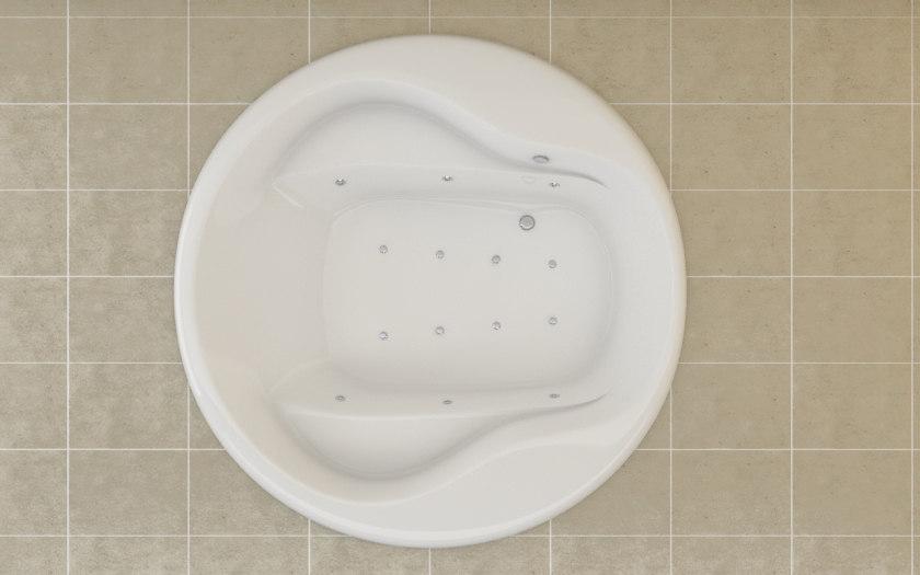 roca waikiki bath 3d model