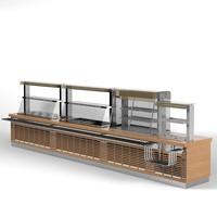 ATESY regata self service line food distriburion storage meals restaurant cafe bistro