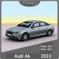3d 2009 audi a6 model