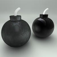 bomb fuse 3d model