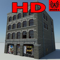 3d abandoned building 1 2010