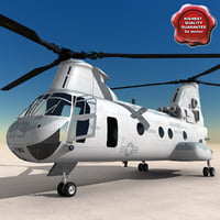 ch-46 sea knight 3d 3ds
