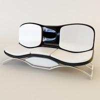 3d max sofa designed