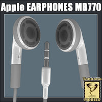 Apple Earphones MB770