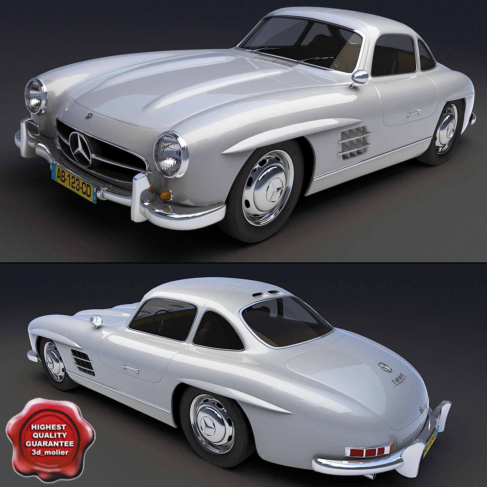 3d mercedes benz ls 198 model