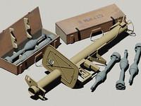 max wwii german anti-tank rocket launcher