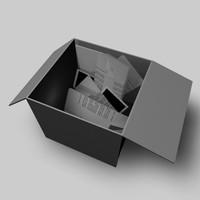 box letters 3ds