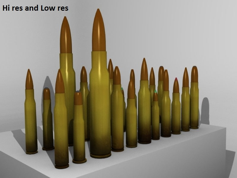 3ds max package rifle