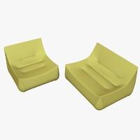 armchair and sofa ligne roset sake