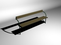 3ds simple bench