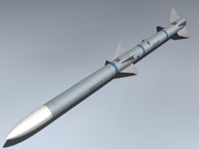 3d catm-120b amraam model