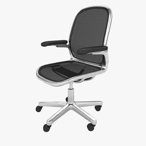 office chair icf cloud 3d model