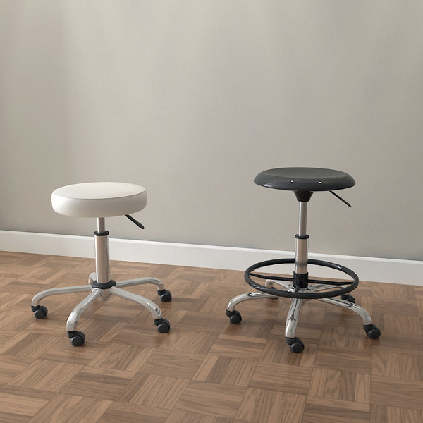3d designer drafting stools chair