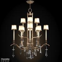 fine art lamps 567840st  chandelier
