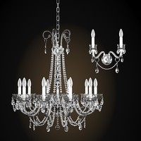Chandelier 3d models for download turbosquid italamp collezione 262 3d model aloadofball