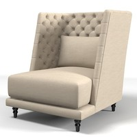 nube remind armchair 3d max