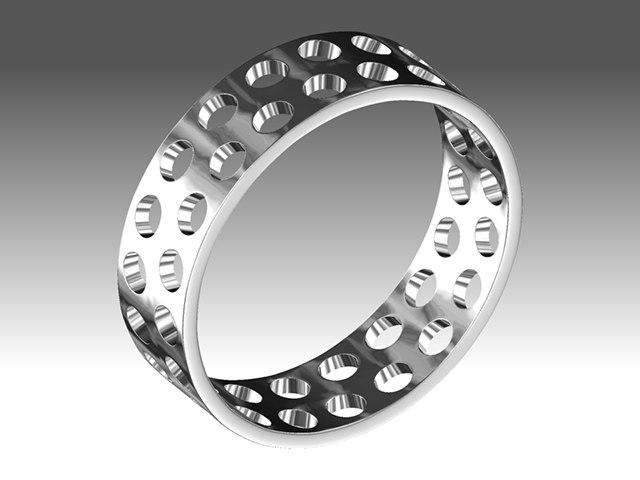 ring 3d obj