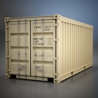 Shipping Container 20""