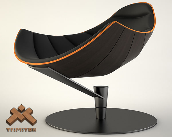 3d shelly chair