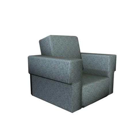 3d sofa single