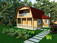 wooden house max