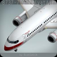 Boeing 737-700 PrivatAir