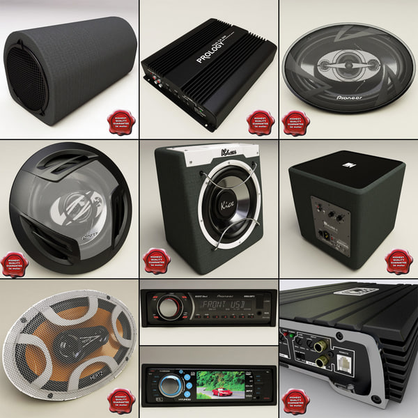 3d model auto music v3