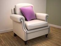 3d classically armchair