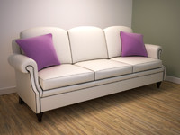 classically sofa 3d model