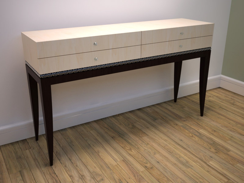 Max elegant console table for Table 52 2014