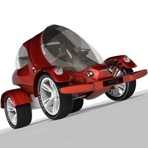obj electrical car