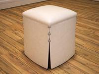 max arabian leather stool
