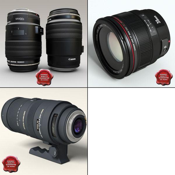 objectives set camera 3ds