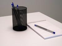 ballpoint pens 3d max