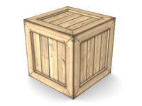 crate games ready 3d model