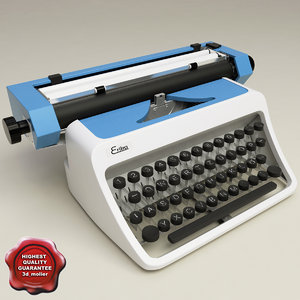 retro typewriter erika max
