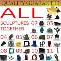 3d model sculptures