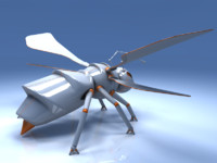 robot insect 3d model
