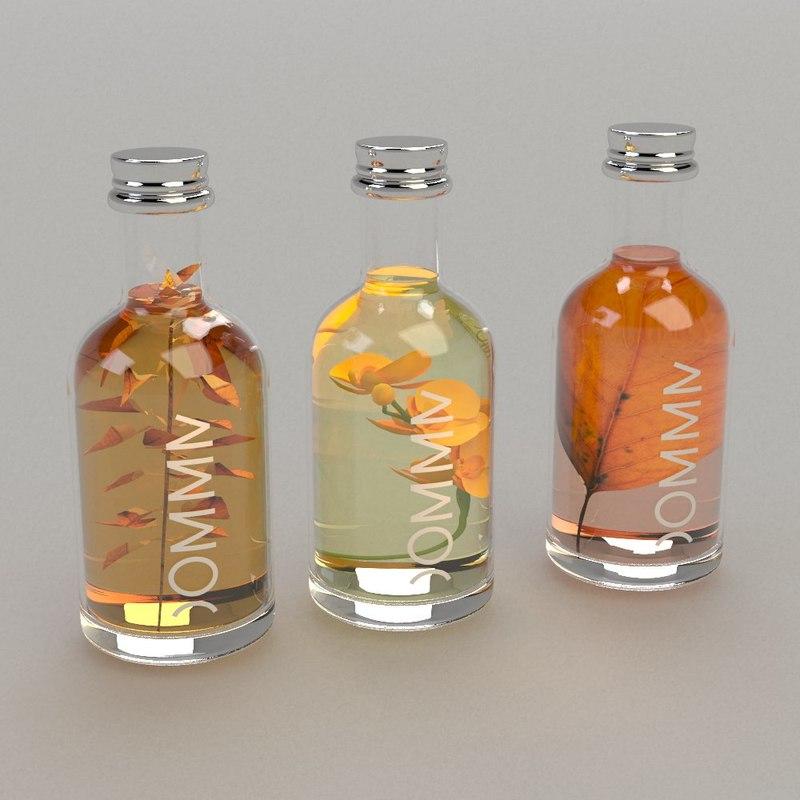 3d model omm body oil