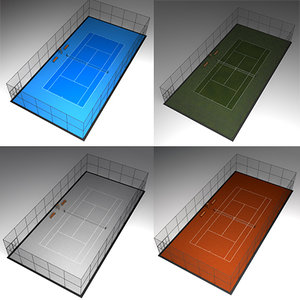 tennis court 3ds