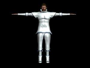 3d model hero knight