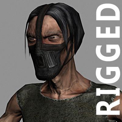 character 3d max