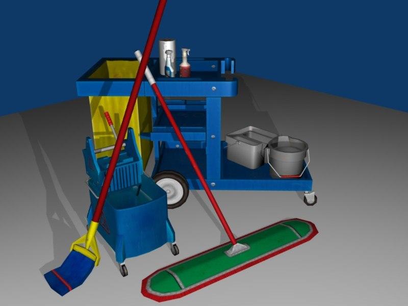 3d pack mop bucket